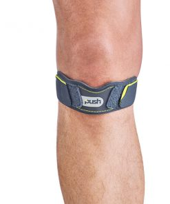 Push sports patellabrace vooraanzicht