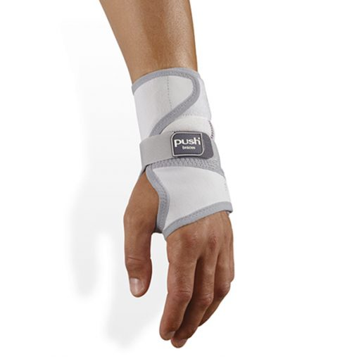 Push med wrist splint wrist brace top view