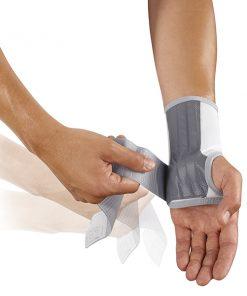 push med polsbrace aandoen